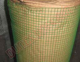 Lưới hàn ô vuông nhựa PVC, Lưới hàn nhựa PVC hình ô vuông