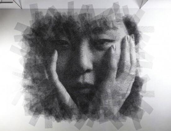 Kiệt tác nghệ thuật lạ mắt từ lưới thép - 2