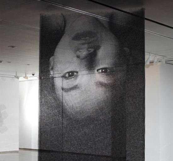 Kiệt tác nghệ thuật lạ mắt từ lưới thép - 4