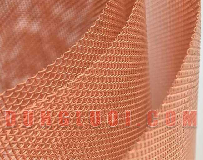 Lưới đồng đan, Mặt hàng lưới đồng đan