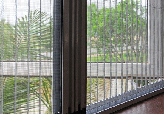Cửa lưới chống muỗi phổ biến