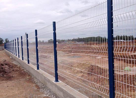 Lưới rào thép hàn công nghiệp