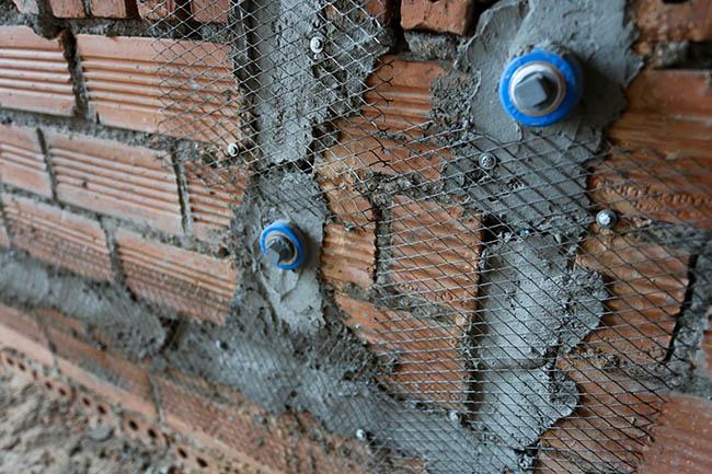 Lưới mắt cáo chống nứt xây dựng