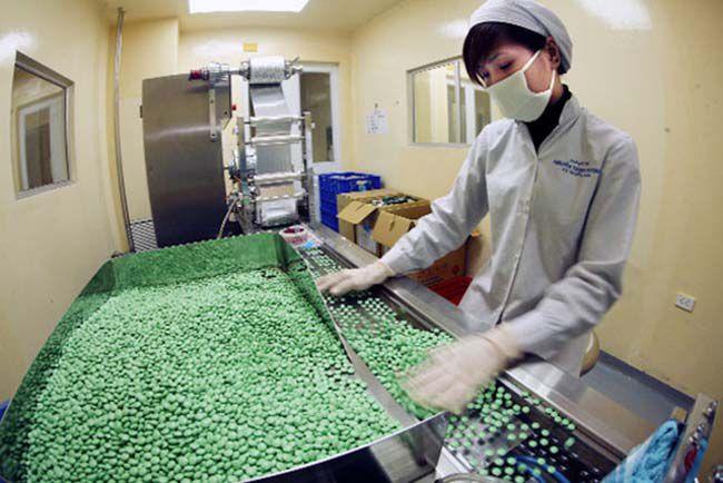 Sản xuất dược phẩm
