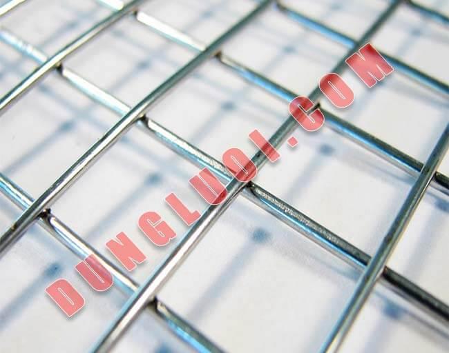 Lưới inox hàn giá rẻ - Quy cách, Phân loại lưới phổ thông