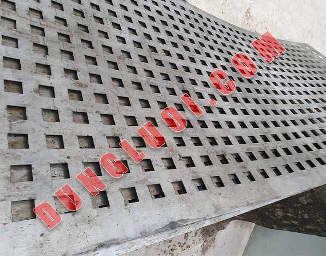 Lưới sắt đột lỗ ô vuông